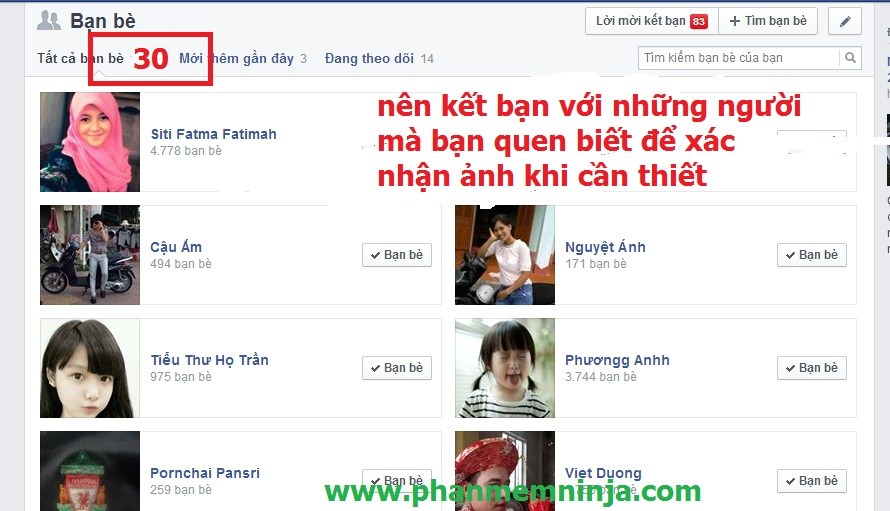 cach mo facebook bi khoa 2 Hướng dẫn sử dụng tài khoản facebook để không bị khóa   Phần mềm Facebook Ninja