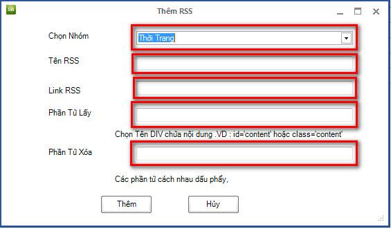 phan mem lay tin tu dong 3 Hướng dẫn sử dụng phần mềm lấy tin tự động RSS   Ninja Seo