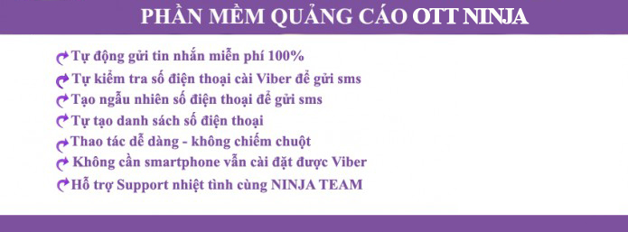 phan mem viber2 Phần mềm Viber Ninja , phần mềm gửi sms viber miễn phí
