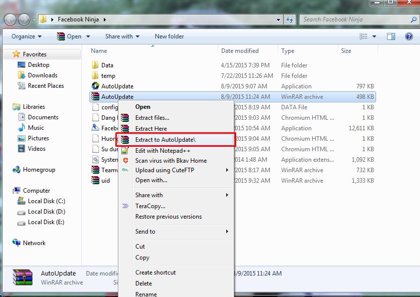 vpwledD Hướng dẫn tự động Update Phần mềm khi có phiên bản mới