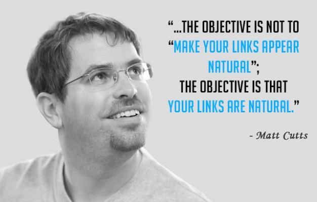 Matt Cutts google link building 626x399 Backlink tự nhiên là gì ? 6 tiêu chí xét backlink tự nhiên hay không !  Facebook Ninja
