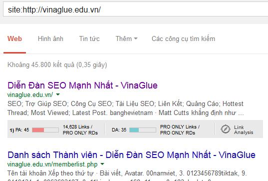 Vilafksdfh Tin hot nhất tuần: Vinaglue và hệ thống diễn đàn dính Sanbox của Google  Facebook Ninja