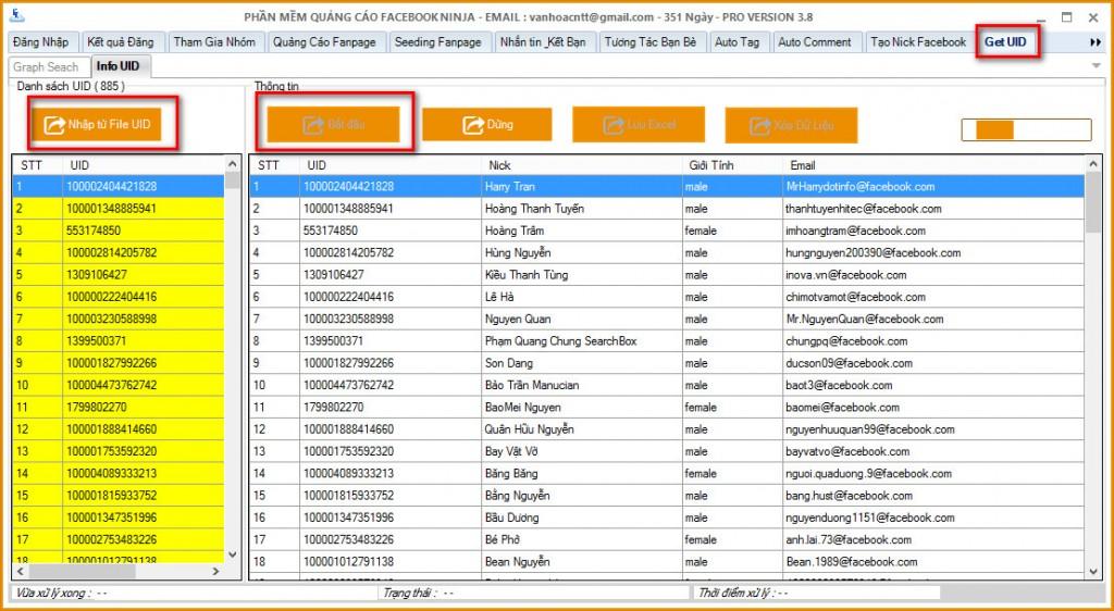 huong dan chuyen uid ve facebook 1024x562 Hướng dẫn chuyển UID sang dạng Email   Facebook Ninja