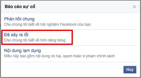 2 Phần mềm ninja   Hướng dẫn các cách liên hệ với Facebook để nhận hỗ trợ
