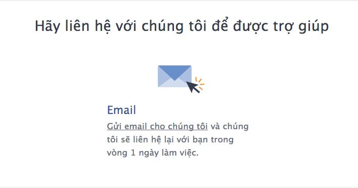 3 Phần mềm ninja   Hướng dẫn các cách liên hệ với Facebook để nhận hỗ trợ